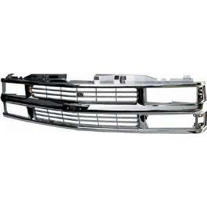 94 CHEVY CHEVROLET BLAZER GRILLE SUV, With Composite H/L, ALL Chrome