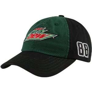 Checkered Flag Dale Earnhardt Jr. Green Black Low Profile