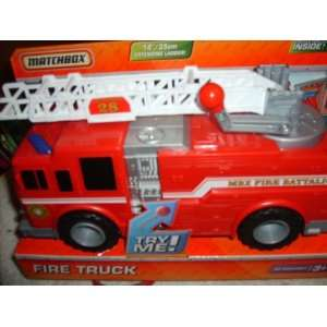 Matchbox to the Rescue Fire Truck Toys & Games