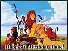 Lion King #3 Edible Cake/Cupcake/Cookie Topper