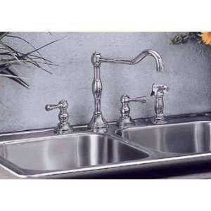 Elkay LK2455CR Victoria Two Handle Kitchen Faucet w/ Spray