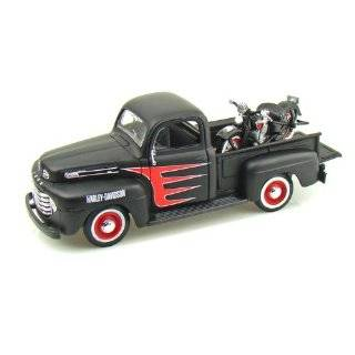 1948 Ford F1 Harley Davidson Truck 1/25 & 1948 Knucklehead Motorcycle