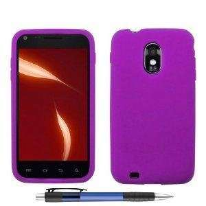 Purple Premium Design Protector Soft Cover Case for SAMSUNG EPIC TOUCH