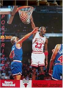 POSTER 3 SET ~ MICHAEL JORDAN NBA CHICAGO BULLS Wings