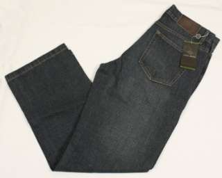 NEW JOSEPH ABBOUD STRAIGHT LEG MEDIUM INDIGO JEANS