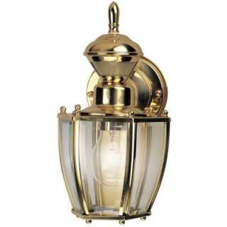 Hampton Bay 150 Degree Outdoor Motion Sensing Decorative Lamp HBI 4170