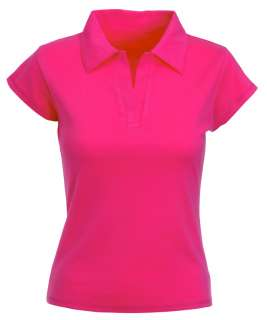 Fruit of the Loom Damen Rip Polo Shirt XS S M L XL Neu