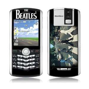 Blackberry Pearl  8100  The Beatles  Abbey Road Skin Electronics