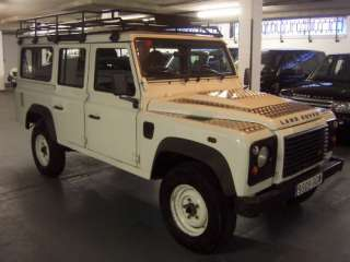 2007 Land Rover Defender 110 SW LHD 7 Seats