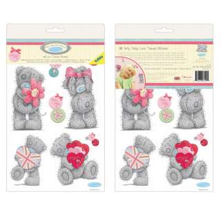 ME TO YOU TATTY TEDDY 18 LOVE STICKERS NEW OFFICIAL BEAR