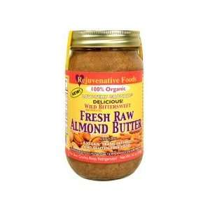 Raw Organic Wild Almond Butter 8oz in Glass Jar  Grocery