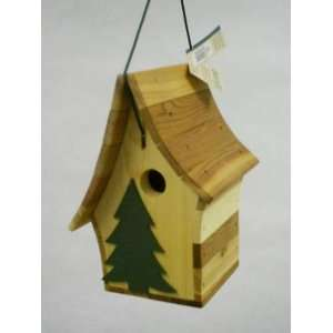 First Nature Pine Tree Bird House Patio, Lawn & Garden