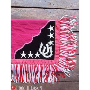 418 Western Show Barrel Racing Rodeo Saddle Blanket Pad