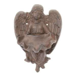 Hanging Cast Iron Angel Birdbath Garden Bird Bath Feeder