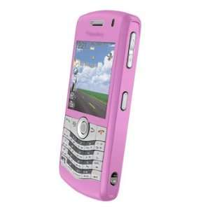 Blackberry Pearl 8130 8120 Silicone Case Clear Pink Cell