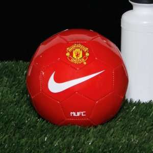 Nike Manchester United Red Skills Soccer Ball Sports