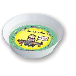 Pen At Hand Stick Figures   Melamine Bowls (Craft Girl)