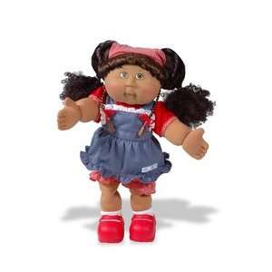 Cabbage Patch Corn Silk Kids Girl in Blue Dress   Ethnic  Toys
