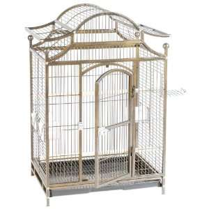 Cage Connection Pagoda Style Bird Cage with Hinged Door