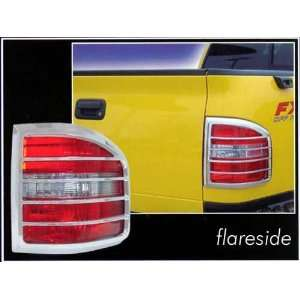 2008 Ford F 150 FLARESIDE 2pc Chrome Tail Light Covers Automotive