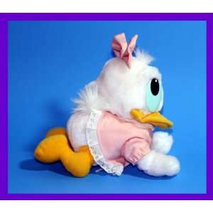 8 1984 Vintage Baby Daisy Duck Crawl Position Plush Toys
