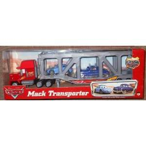 Disney Pixar Cars Mack Transporter with Sally and Doc