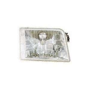 93 97 FORD RANGER EURO CRYSTAL CLEAR HEADLIGHT TRUCK, one