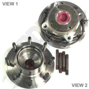 Front Wheel Hub Bearing Assembly W/Abs Fine Thread Studs