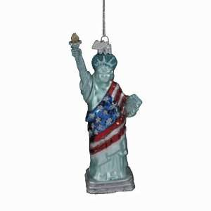 Kurt Adler 5 1/2 Inch Noble Gems Statue of Liberty with