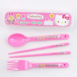 Hello Kitty Utensil Set Toys & Games