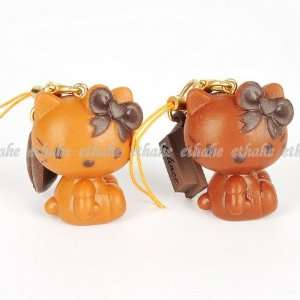 Hello Kitty Couple Mobile Cell Phone Strap 2pcs Cell Phones