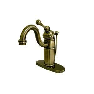 Elements of Design EB1403BL Single Hole Faucet