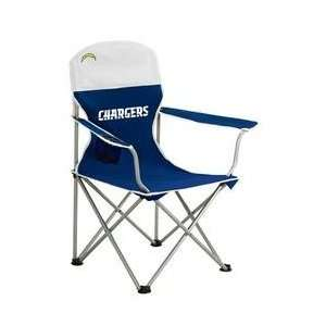 San Diego Chargers NFL Deluxe Folding Arm Chair
