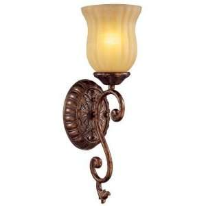 Hampton Bay Freemont 1 Light Antique Bronze Wall Sconce