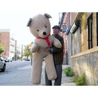 68 TEDDY BEAR HUGE PLUSH STUFFED SNUGGLE ANIMAL * COLOR BEIGE