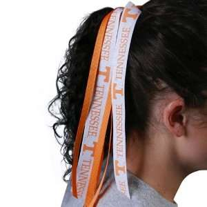 NCAA Tennessee Volunteers Fan Ribbon Scrunchie Sports