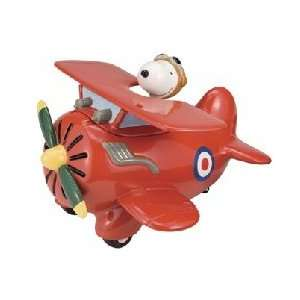 Peanuts Snoopy Flying Ace Sculpted Cookie Jar Kitchen