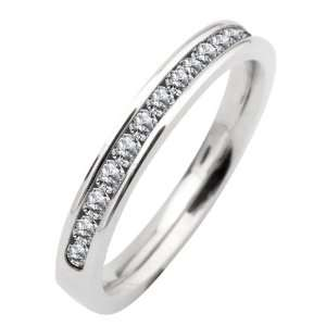 316L Stainless Steel Eternity Band Ring With Polished
