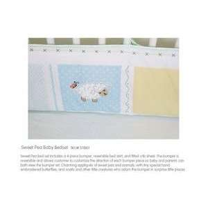 The Little Acorn Sweet Pea Baby Bed Set Baby
