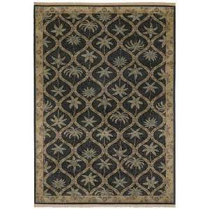 Tommy Bahama Rugs Home Olefin Palm Patches Onyx Novelty