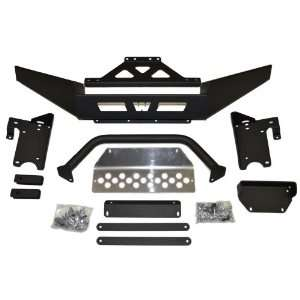 Warn 85623 Winch Mount and ATV Front Bumper Combination