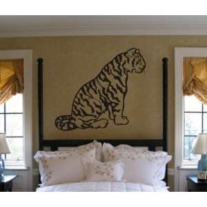 Tiger Decal Sticker Wall Animal Kid Child Room Boy Girl