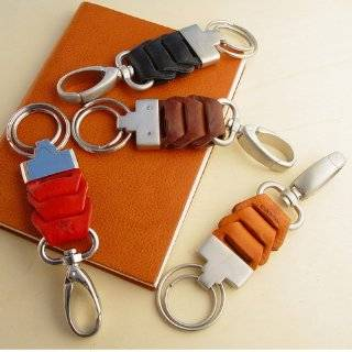 SNAPLINK   Italian Leather Key Chain  Clothing