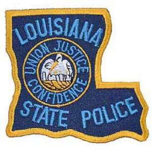 Louisiana State Police Patch 3 Patio, Lawn & Garden
