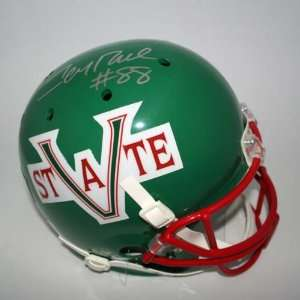 Jerry Rice Autographed Mississippi Valley State Delta Devils Schutt