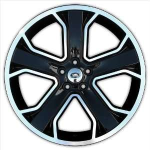 Marcellino Windsor 22 Inch Wheels   Land Rover Fitment   Gloss Black