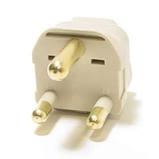 Universal Grounded Type M Plug Adapter for South Africa Travel Power
