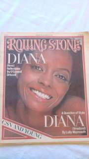 Rolling Stone Mag.~DIANA ROSS COVER #245 1977~COLLECTIBLE  MINT