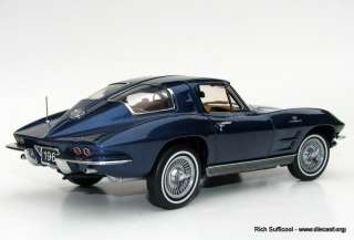 1963 Corvette Z06 Split Window Coupe LE 3000 Franklin Mint Precision