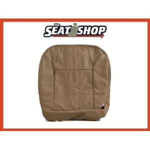 00 01 Ford Excursion XLT Med Parchment Leather Seat Cover